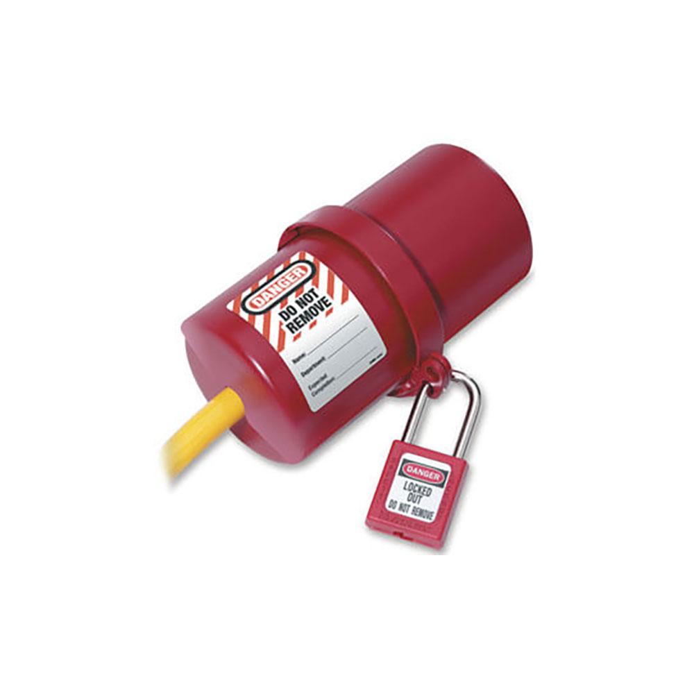 MasterLock 488 3 Fazlı Büyük Boy Elektrik Fişi Kilitleme Aparatı