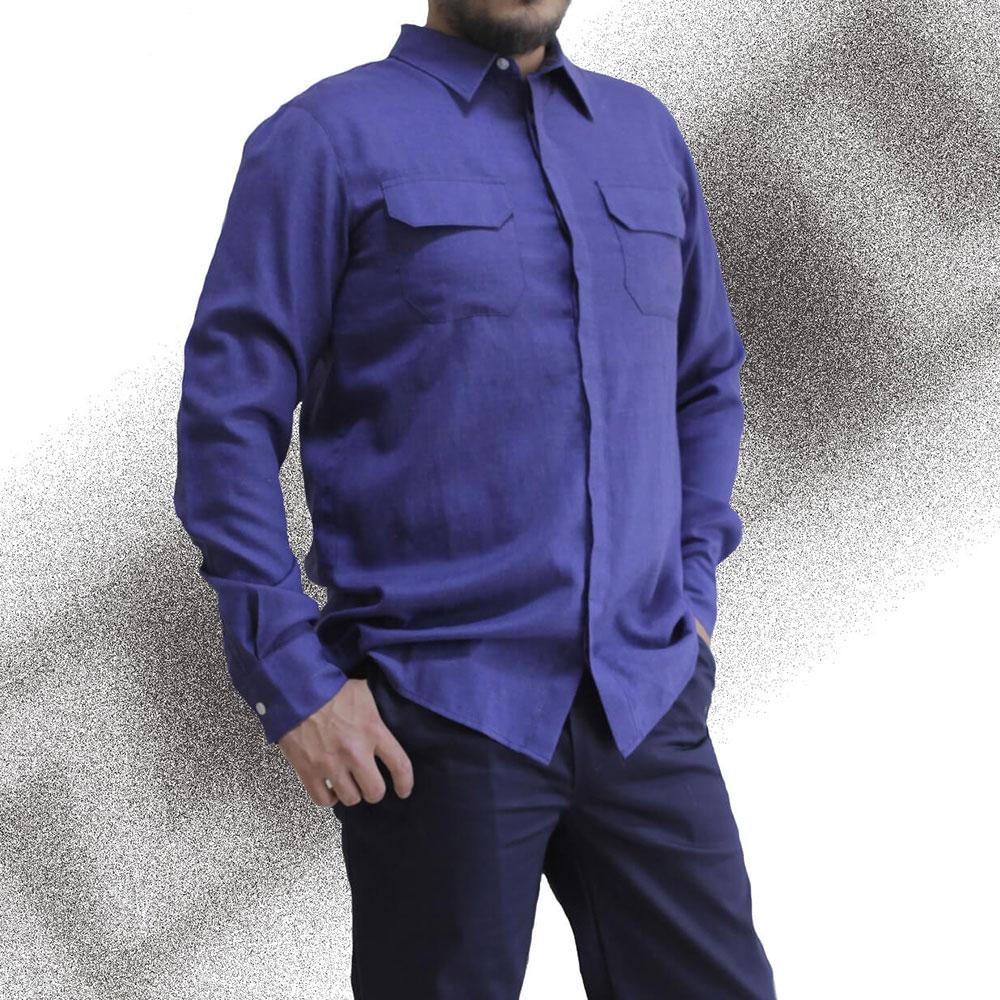 BTSGS - Alev Almaz Anti Statik Gömlek